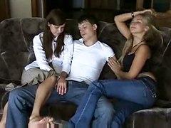 Hot Russian Threesome