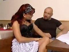 Mature Maid Pleasing Her Boss