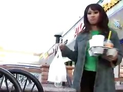 Asian Dolly Pleases Erect Rod