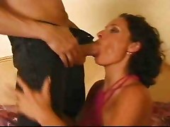 This Lady Just Loves Anal Fuck, With Husband Watching