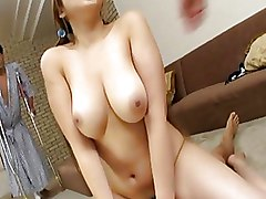 Myuu Hasegawa Naughty Asian Model Enjoys Riding Cock