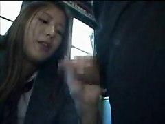 Blowjob In Bus