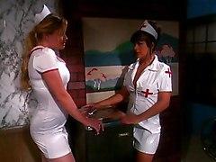 Blond Nurse Fucked On Bed