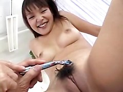 Nasty Japanese Amateur Gets Her Ass Dildoed