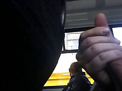Flashing In The Bus 3 Whit Cum