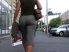 Amazing Mature&039;s Ass Walking