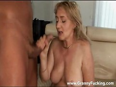 Granny Chick With Big Tits Banged