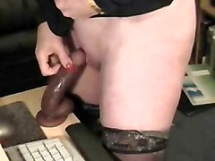 Stolen Video Of My Pervert Mom At Computer