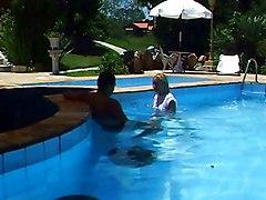 Banging A Mamacita At The Pool