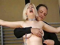 Nipple Tormented Slavegirl