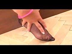 Zuzanna Nice Blonde Nylon Legs Nice Feet Foot Perfect Boobs Tits