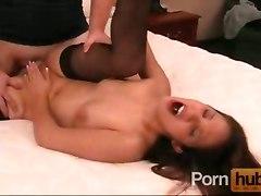 Creampie In Brunette Pussy