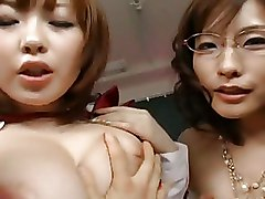 Nao Ayukawa And Rio Hamaski Lovely Asian Babes Enjoys Fucking With Their Students