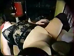 Slut Italian Masked Grandma Having Fun With Nephew 2