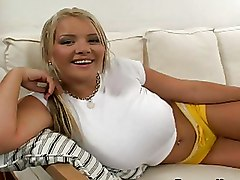 Busty Blondes In Latex Having Solo Fun
