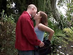 Yevonne Gobbles Knob Of Happy Danny In The Forest