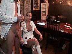 Nurse Needs Sperm Sample