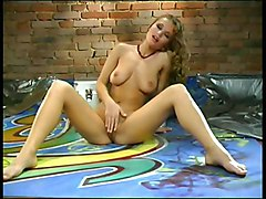 Slut Massages Her Breasts And Pussy 2