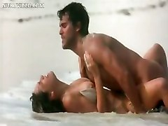 Nude Celeb Kelly Brook Having Passionate Sex On The Beach