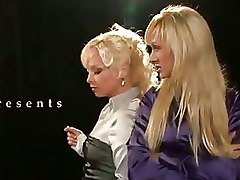 Piss  Satin   Two Czech In Threesome With Piss Games
