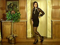 Amazing Crossdresser Posing