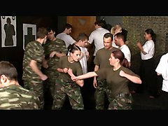 Army Bisex Party 1
