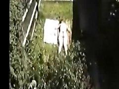 Spying On My Teen Neighbour Sunbathing