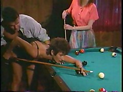 Pool Table Is Big Enough To Fuck Two