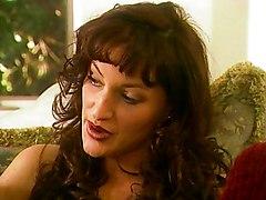 Sexy Lesbians Using Doubledildo