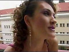 Bi-sex On Balcony