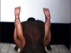Black Guy Pumping His Seed Deep In Wifey&039;s Pussy