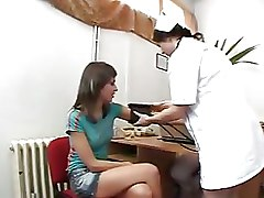 Gyno Clinic  Examination Of A Czech Girl