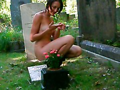 Me Naked In A Cemetry 3