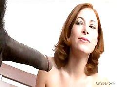 Big Black Dick In Sexy Ginger Blaze