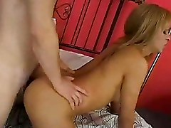 Shemale With A Huge Cock Gets Fucked And Fucks Guy