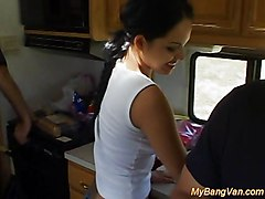 Angelina\s Twin Sister In The Bang Van