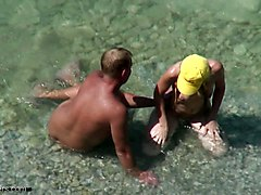 Couple At The Beach Cought By Hidden Cam