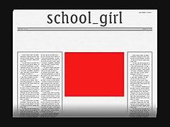 English Mature Schoolgirl