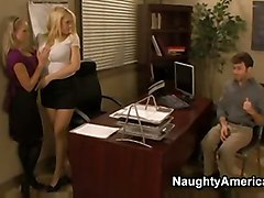 Kagney Linn Karter And Shawna Lenee  Naughty Office