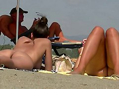 Beach--hot .nudist Girl