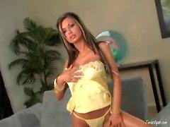 Filming Fervent Chick Masturbating