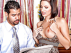Busty Housewife Cheats On Her Husband
