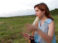 Hot Russian Outdoor Party