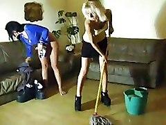 Two Hoties Pee On The Floor