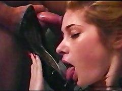 She Loves Her Cummy High Heels