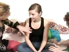 Mature Amateur Threesome Homemade Sextape
