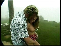 Loveable Blonde Gets Fucked On A Foggy Day