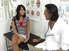 Young Girl At Gynaecologist