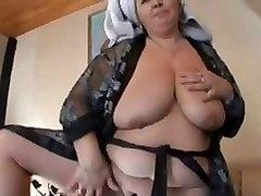 Lovely Plump Granny