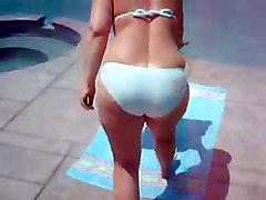 Bikini By The Pool